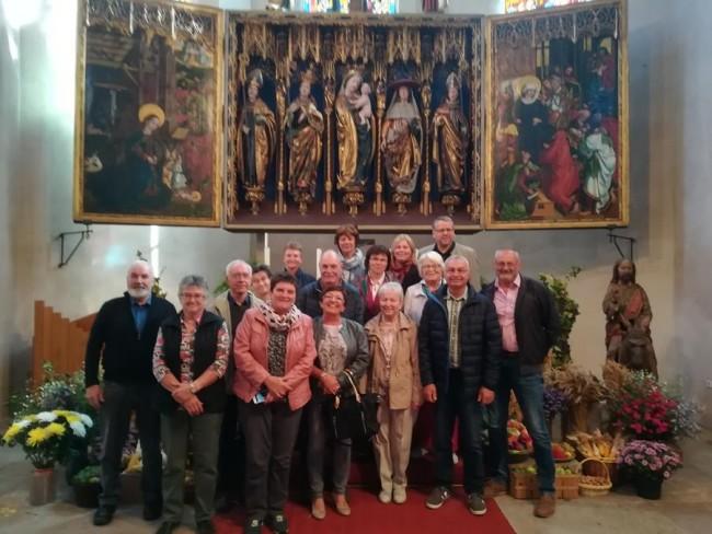 Glockenstiftungsverein besuchte Pfarrer Thomas Lichteneber